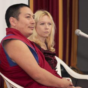 Фоторепортаж с лекции по тибетской медицине