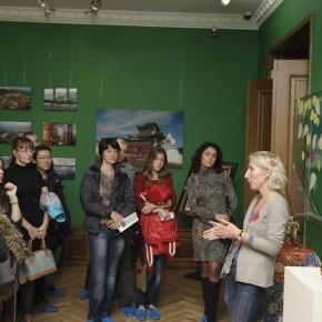 Репортаж с экскурсии по выставке