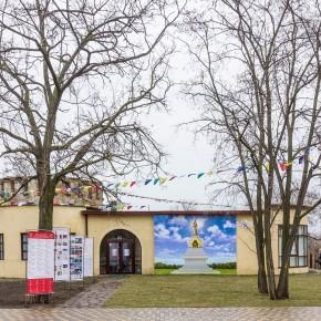 В Волгограде открылась выставка «Ступа Совершенной Победы»