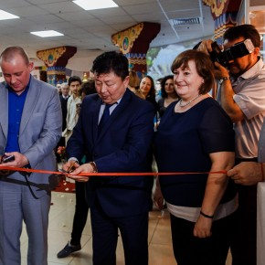 Открытие выставки в Краснодаре: пресс-конференция и первые гости